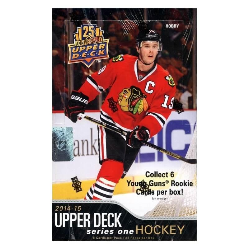 2014-15 Upper Deck Series 1 Hockey Hobby Box
