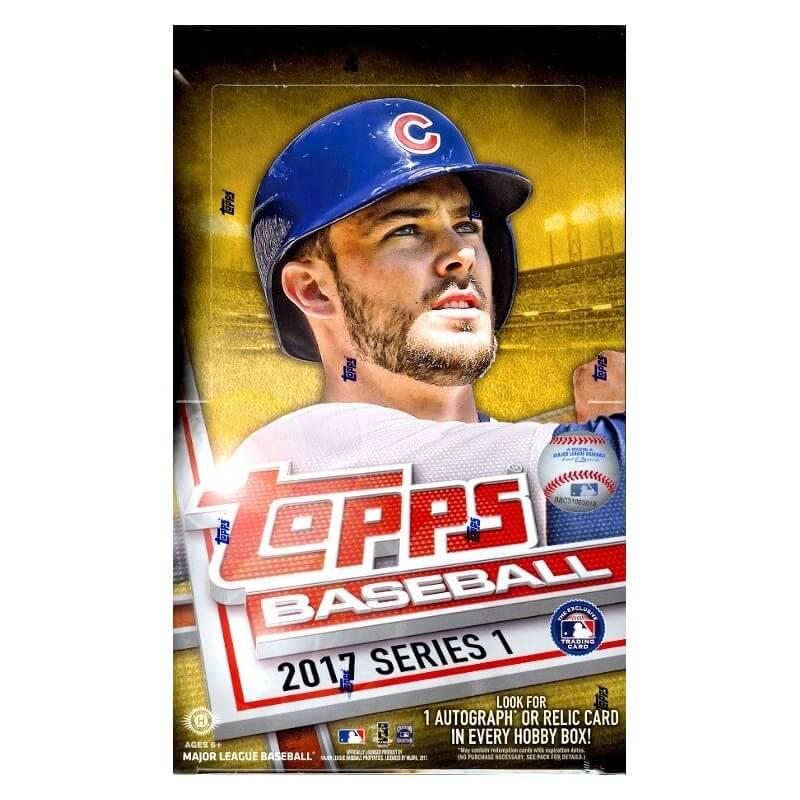 2017 Topps Series 1 Baseball Hobby Box Canada Card World