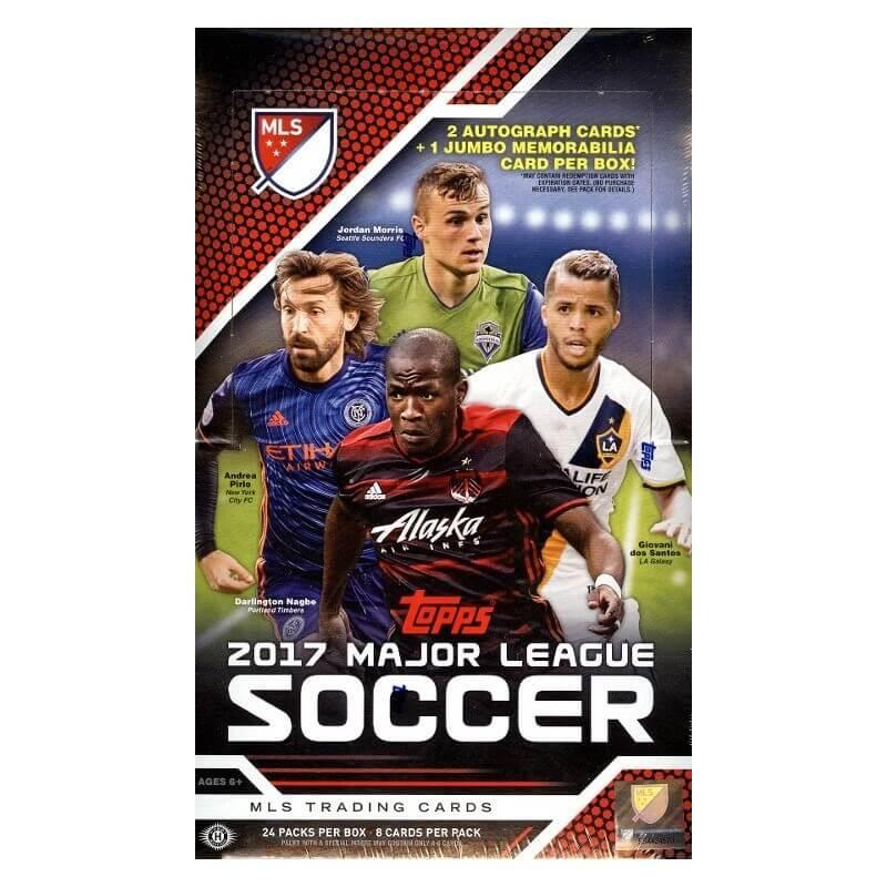 350da19fb40 2017 Topps MLS Major League Soccer Soccer Hobby Box - Canada Card World