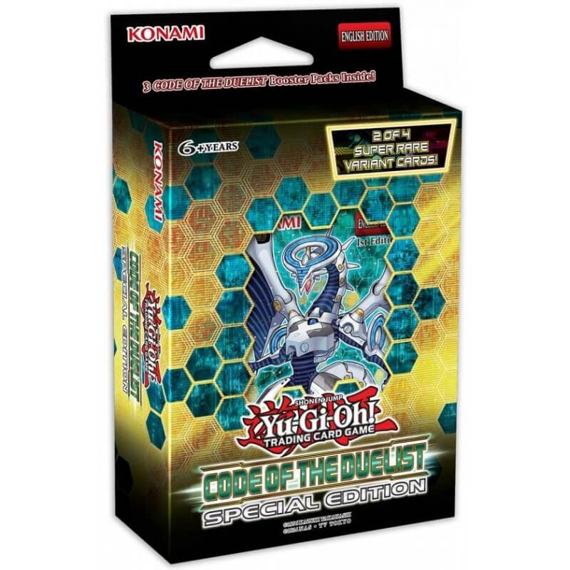 Yu-Gi-Oh Code Of The Duelist Special Edition Box