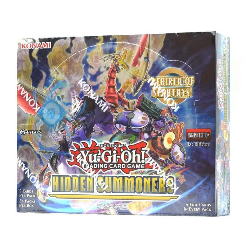 Yu-Gi-Oh Hidden Summoners 1st Edition Booster Box