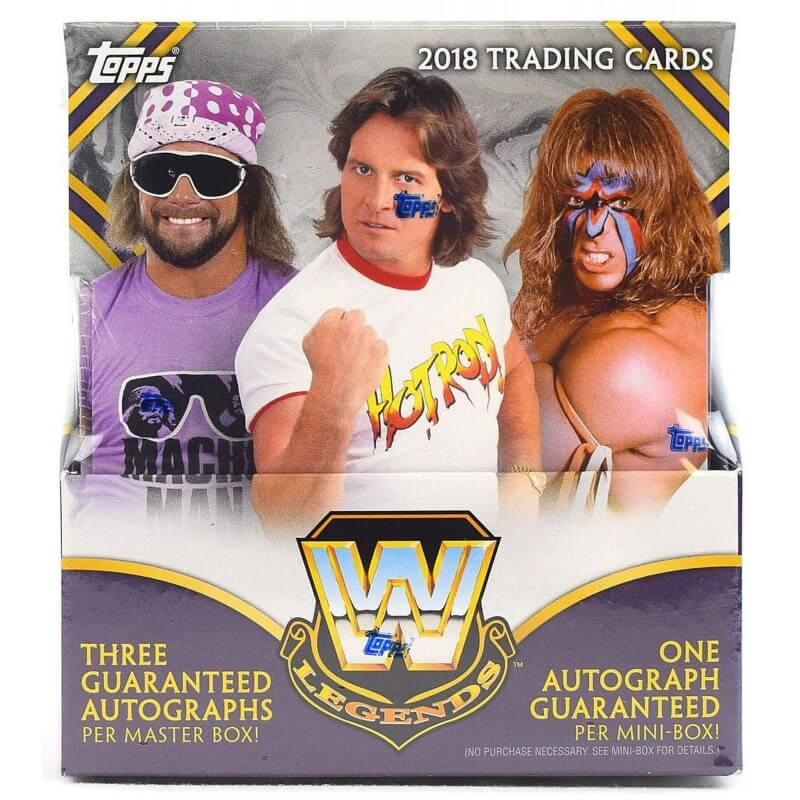 2018 Topps Wwe Legends Wrestling Hobby Box Canada Card World
