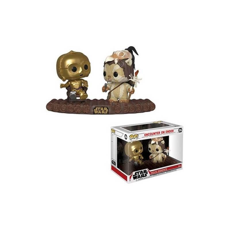 Pop! Star Wars Return Of The Jedi C-3PO On Throne Vinyl