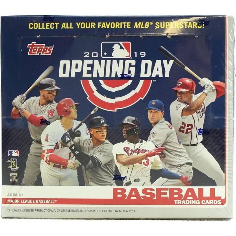 2019 Topps Opening Day Baseball Hobby Box Canada Card World