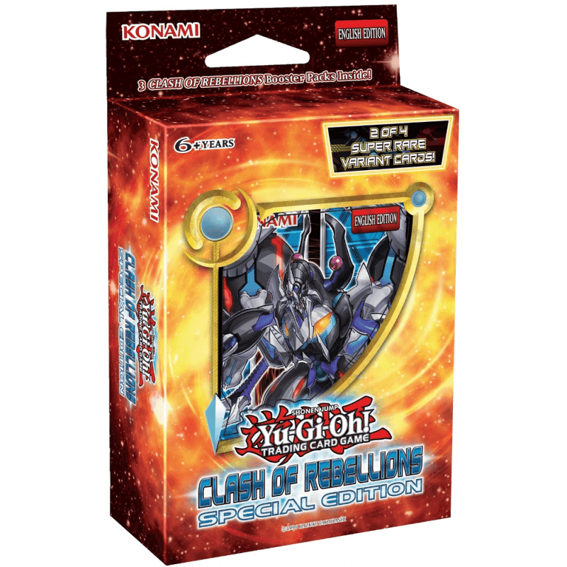 Yu-Gi-Oh Clash Of Rebellions Special Edition Deck