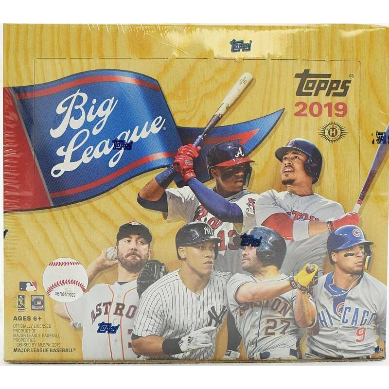 2019 Topps Big League Baseball Hobby Box Canada Card World