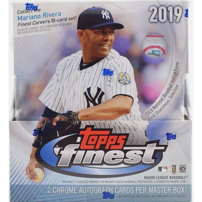 2019 Topps Finest Baseball Hobby Box Canada Card World