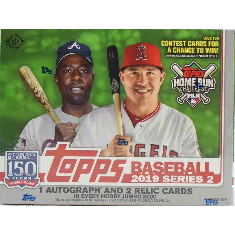 Baseball Hobby Boxes