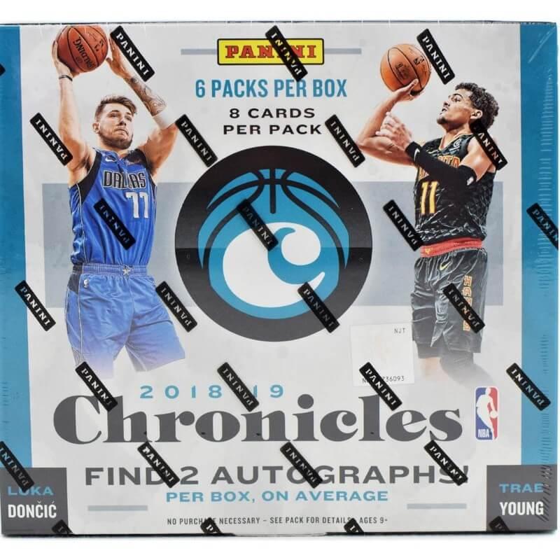 201819 Panini Chronicles Basketball Hobby Box Canada Card World
