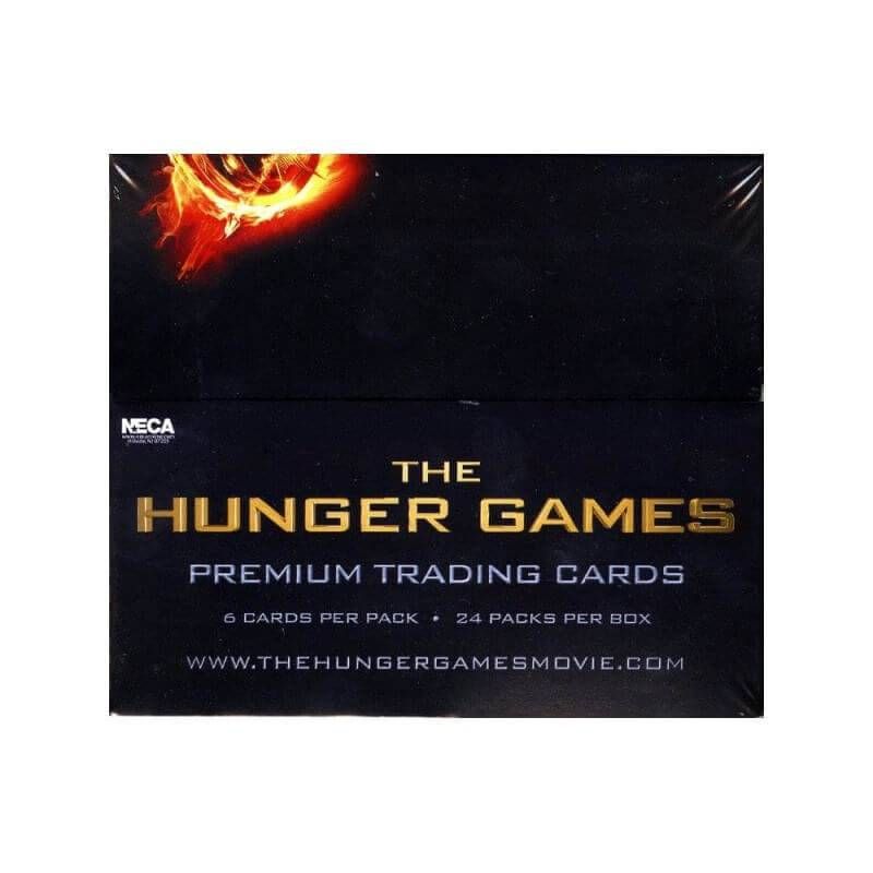 NECA The Hunger Games Movie Trading Cards Box